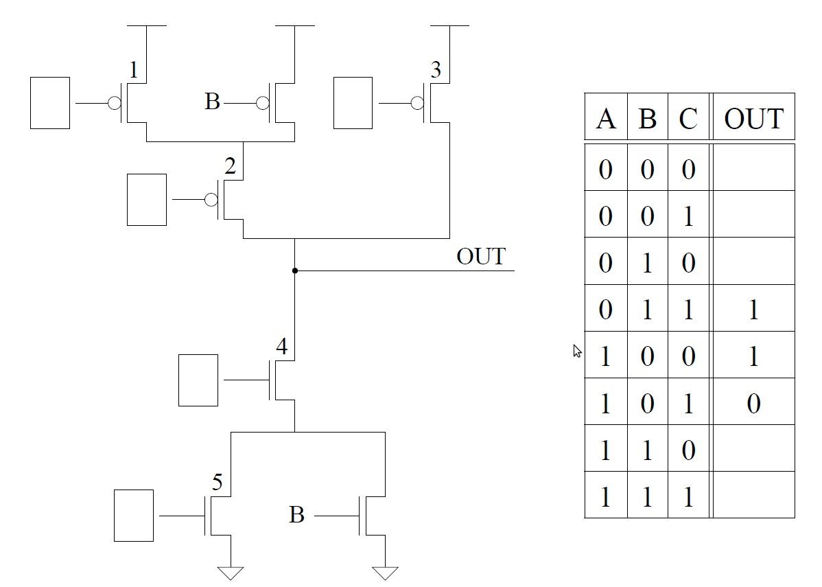 Circuits And Or Nand Nand Nor Nor Circuits Another Example