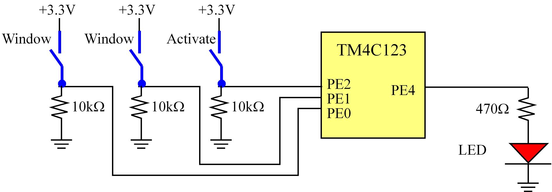Chapter8 Switches And Leds Connect The Series Circuit As Shown In Figure Below Using 10 89 Hardware